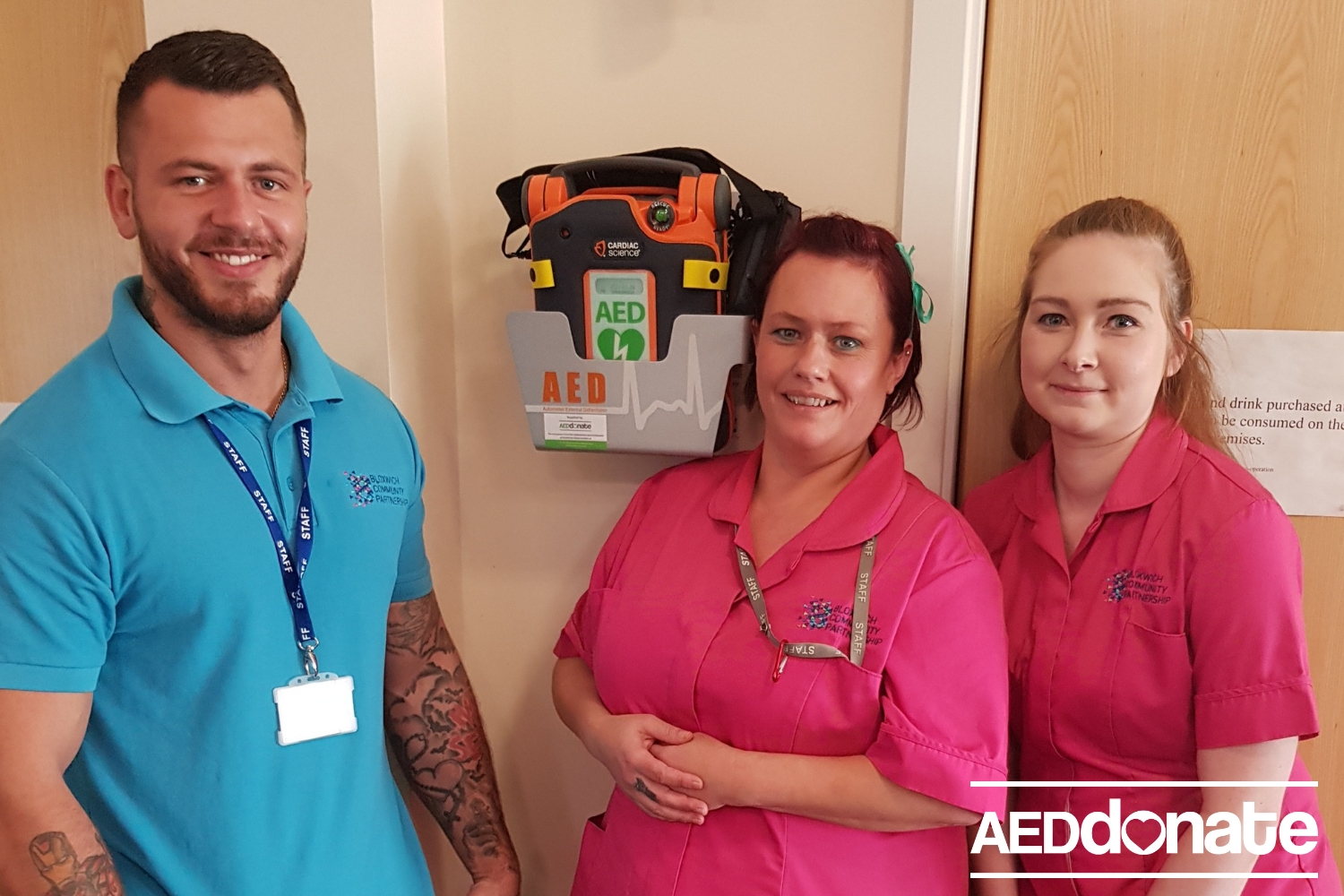 Two further AED's installed in Bloxwich