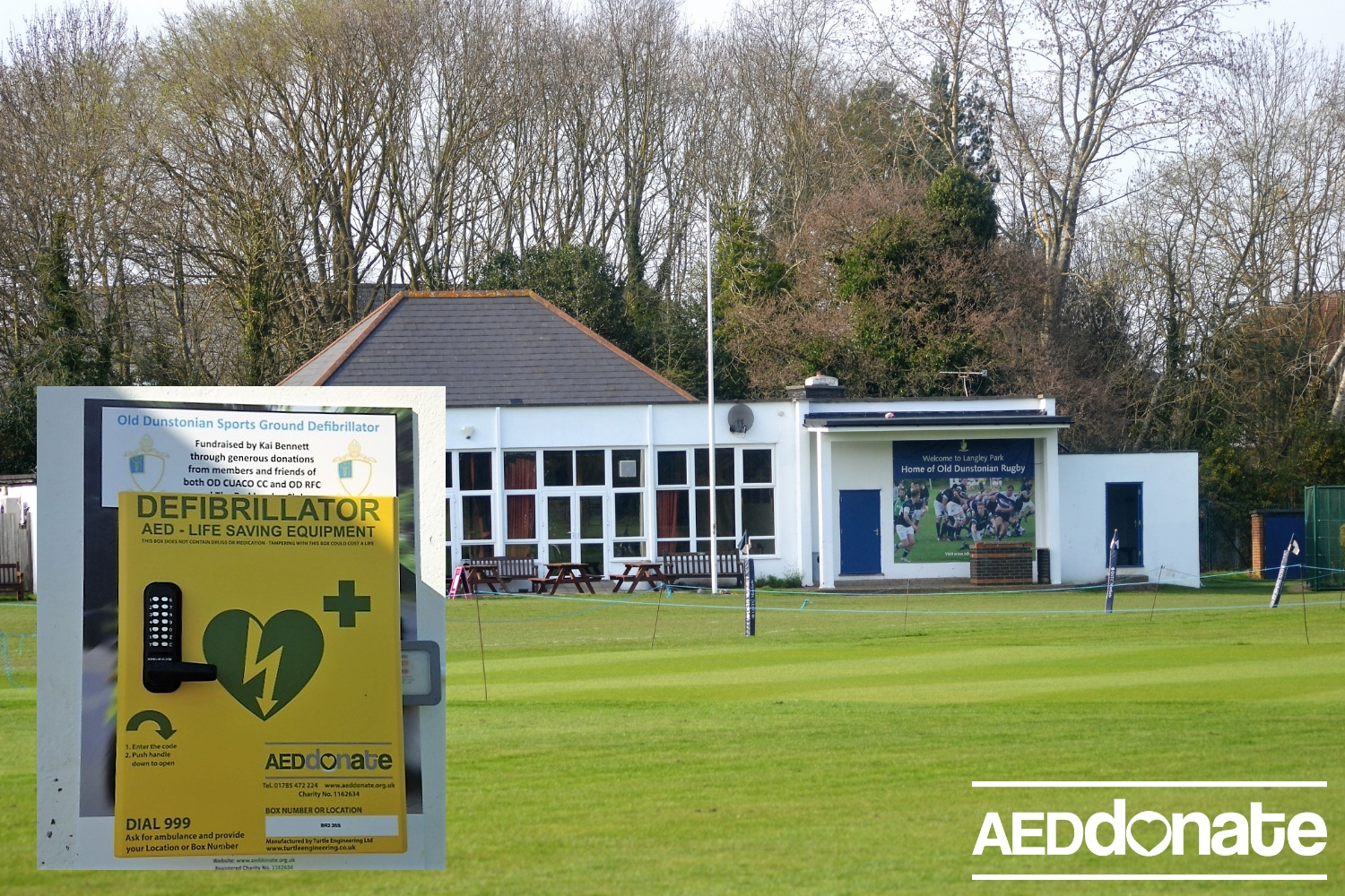 Installation for Old Dunstonian Sports Ground