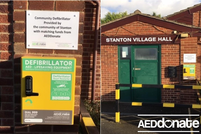 Defibrillator for Stanton