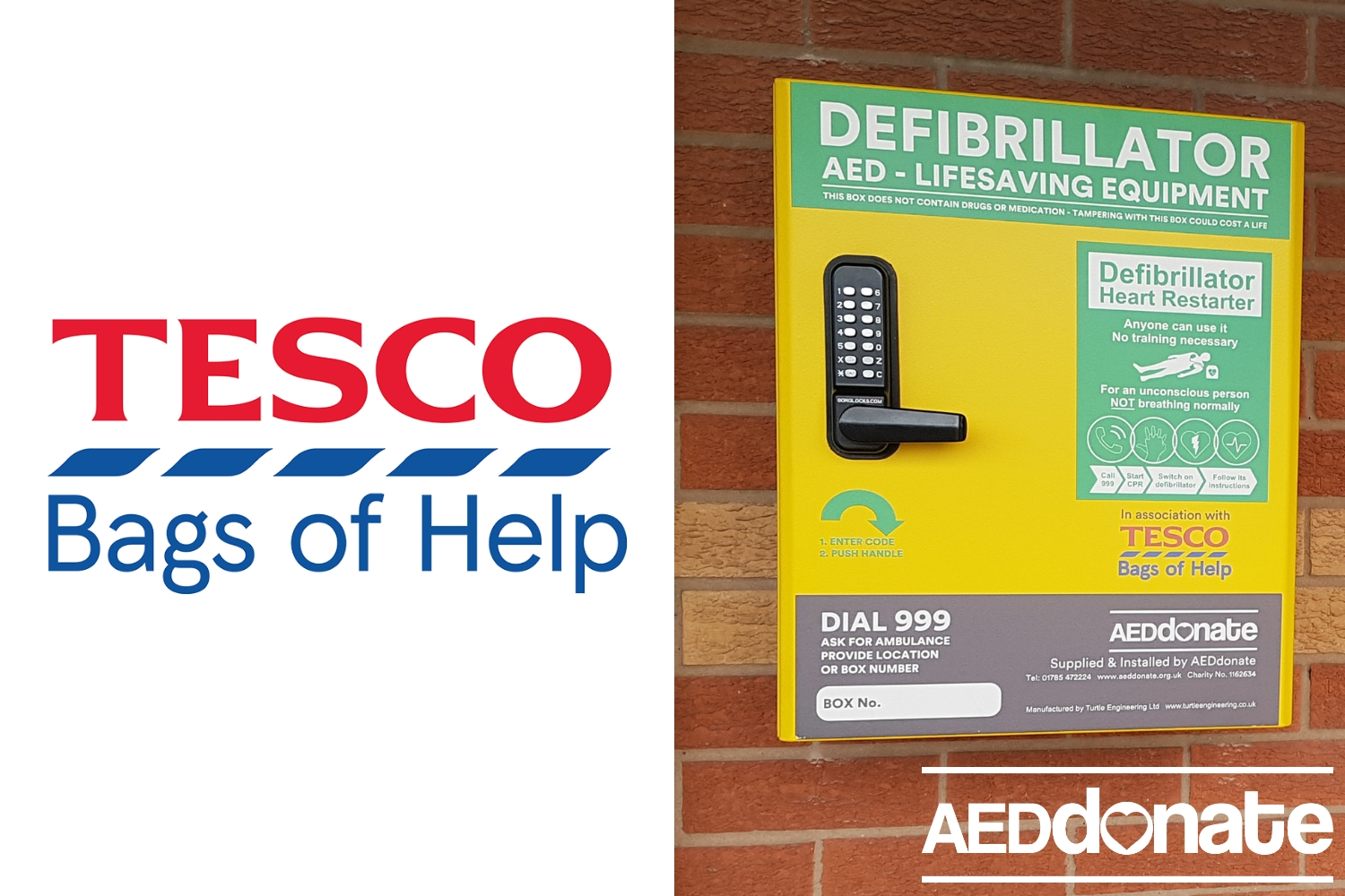 Bardon Hill AED benefits all
