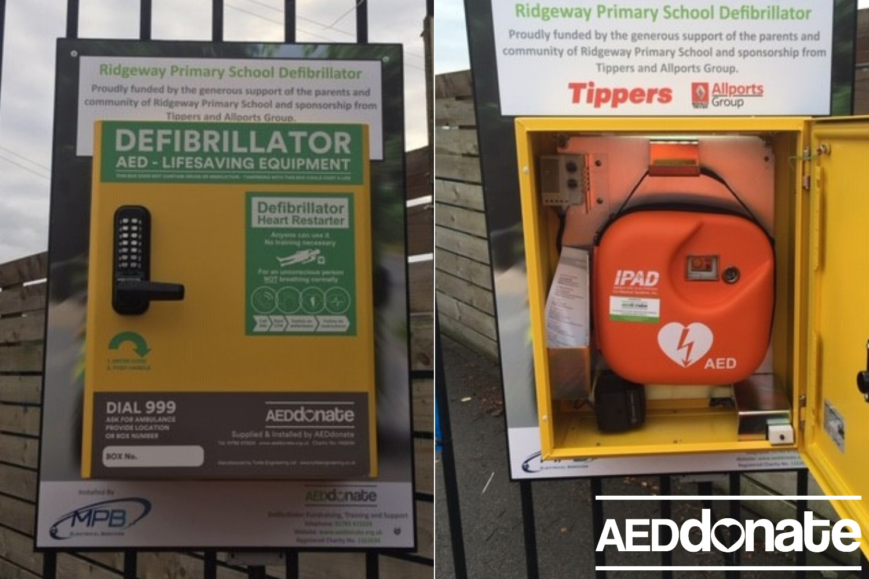 School defibrillator benefits whole community
