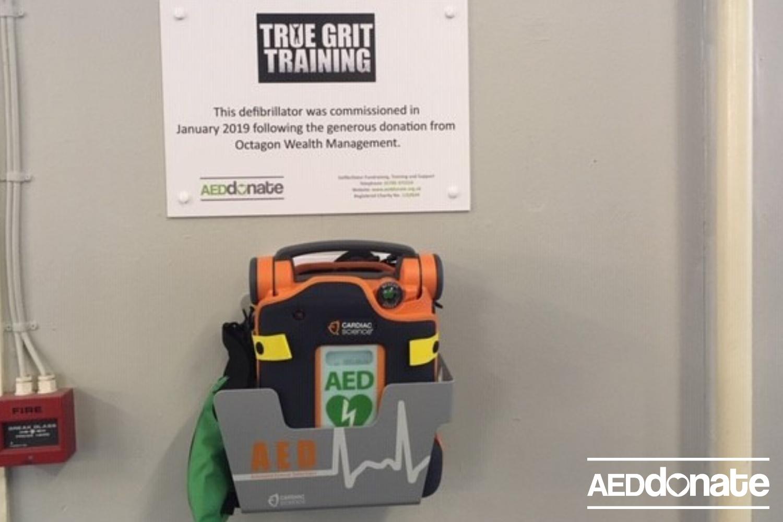 Defibrillator for True Grit