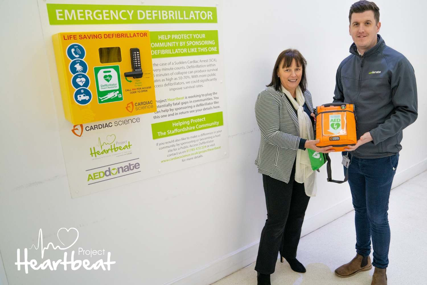 Affinity Staffordshire back the Project Heartbeat Campaign