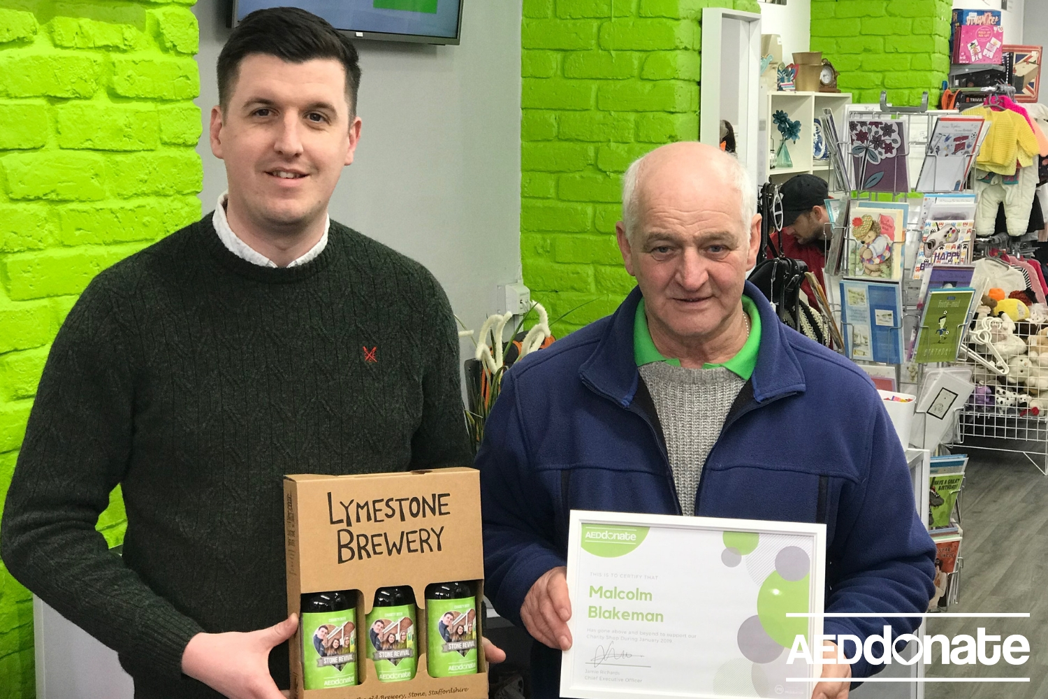 Charity Volunteer of the Month – February 2019