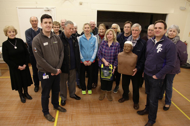Defibrillator Training for Bramshall Village