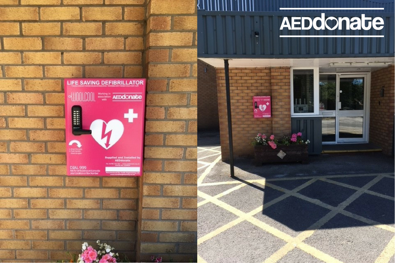 Defibrillator Installed at Woolcool, Stone