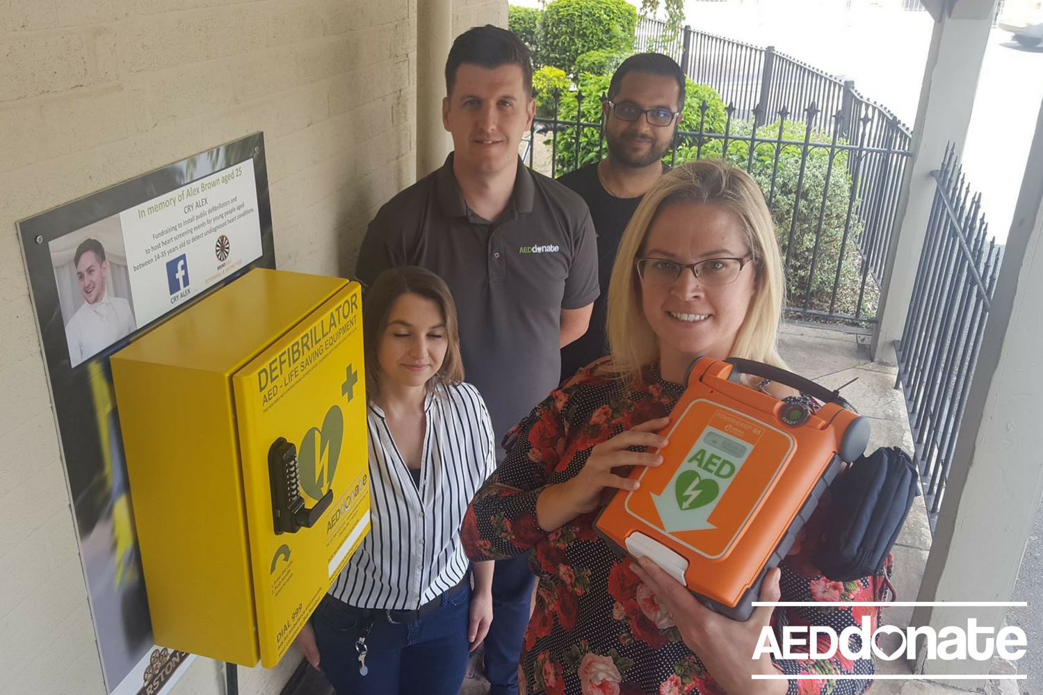 'I'm doing this for Alex's legacy': Sister Rachel unveils second Tettenhall defibrillator