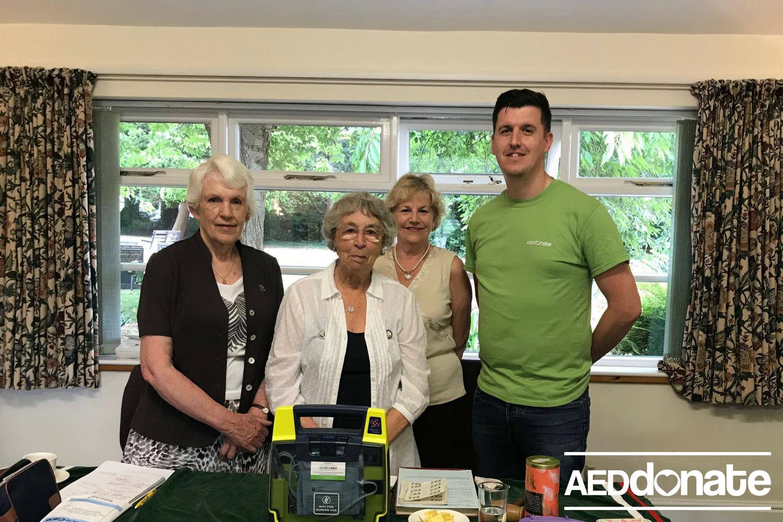 Stone Townswomen's Guild receive Lifesaving Training