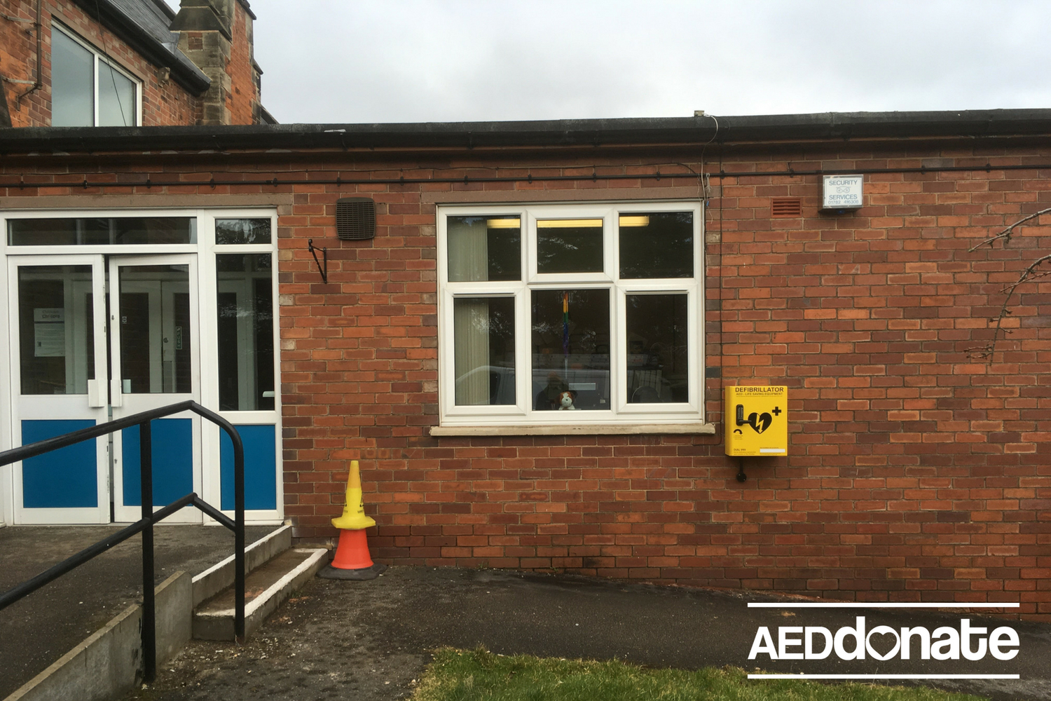 Defibrillator Installed for the Greatwood Hall Community
