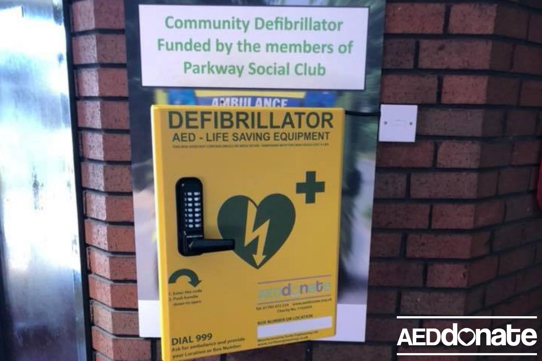 The Parkway Social Club install life-saving equipment