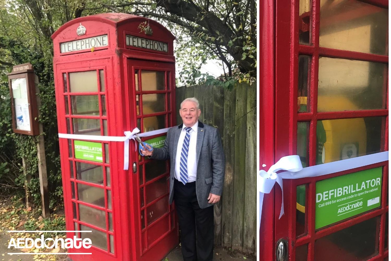 Defibrillator for Brocton Village