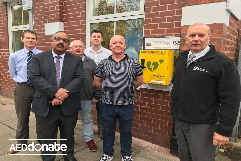 Stoke-on-Trent Driving Instructors install life-saving equipment in Cobridge