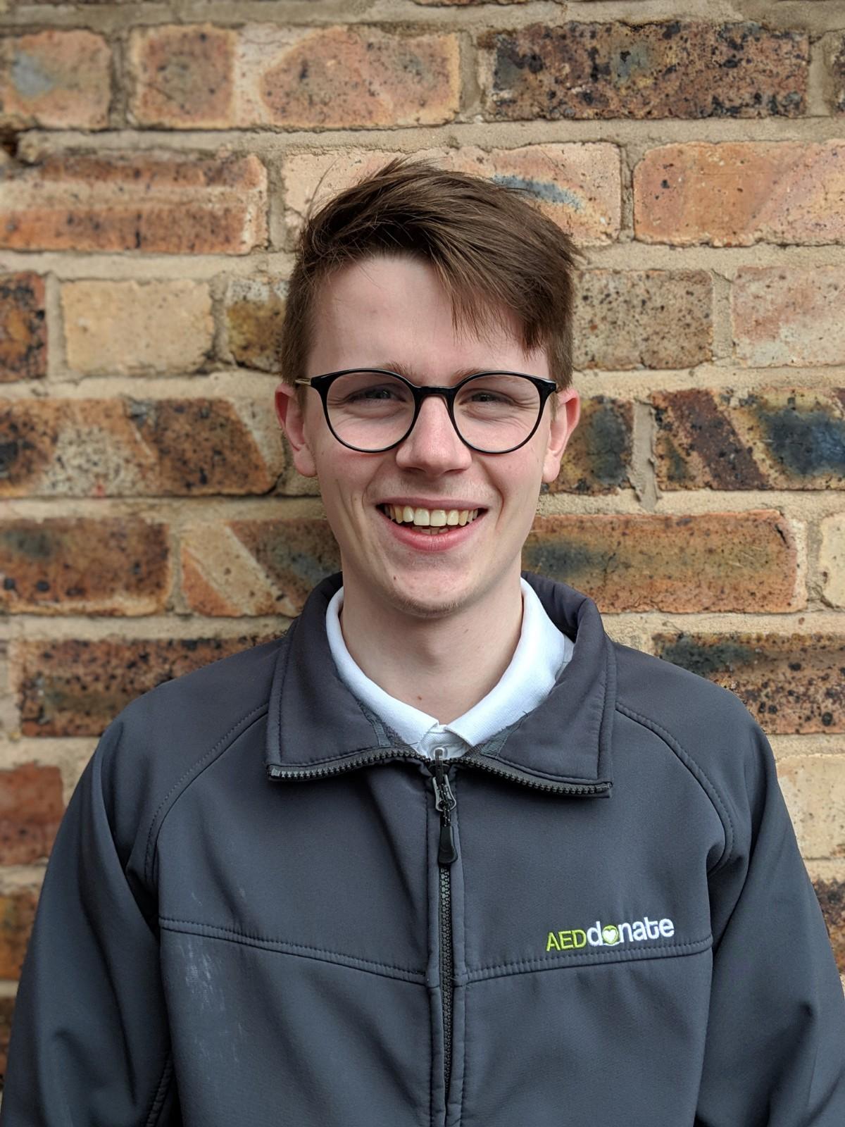 Portrait of Aidan Oates - Team Support Officer/Helpdesk