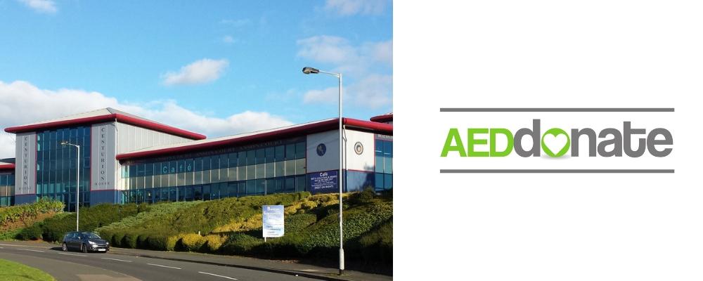 Anson Court – Staffordshire Tech Park AED Campaign