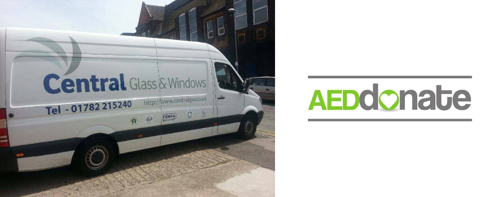 Central Glass and Windows AED Campaign