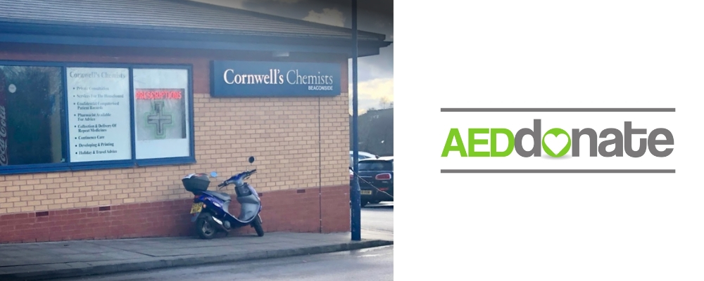 Cornwell's Beaconside Defibrillator Campaign