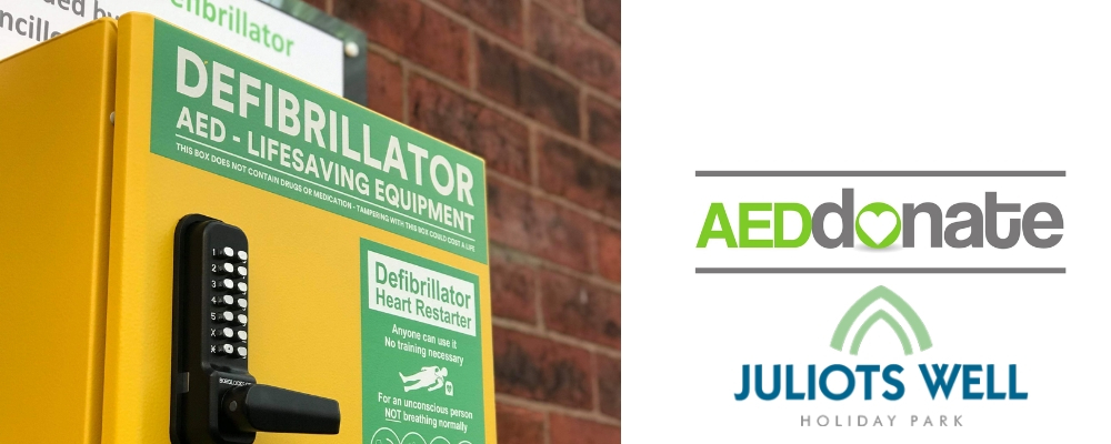 Juliots Well Holiday Park Defibrillator Campaign