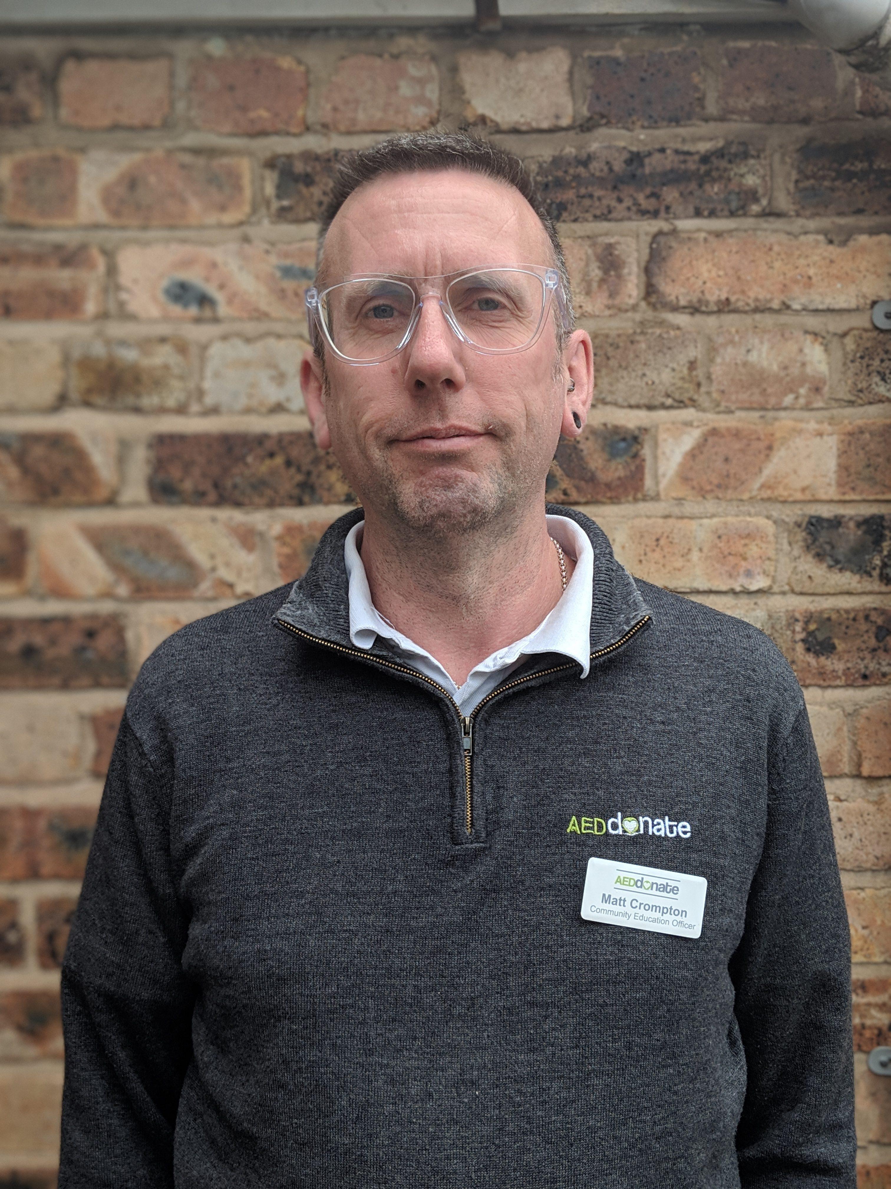 Portrait of Matt Crompton - Community Education Officer