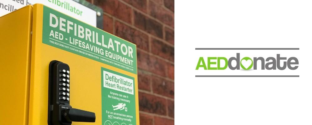Defibrillator for Aston Lodge, Stone