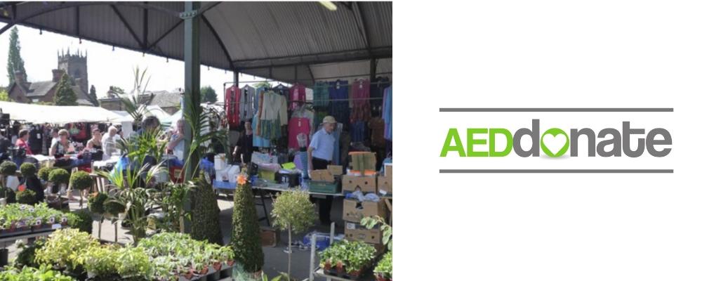 AED for Penkridge Market
