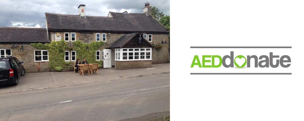 The Red Lion Inn, Leek AED Campaign