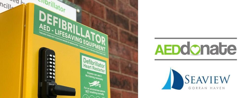 Seaview Gorran Haven Defibrillator Campaign