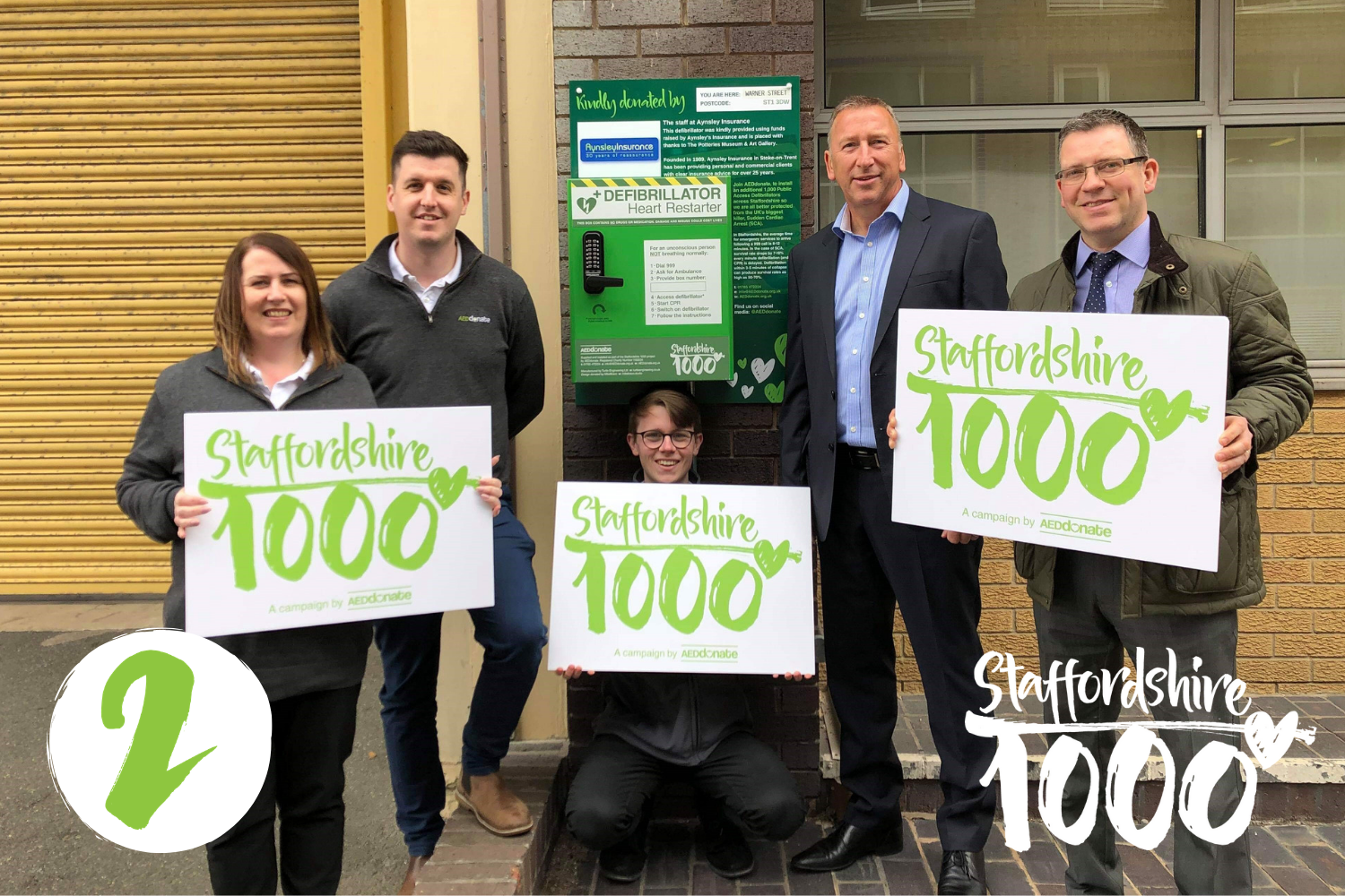 Site number 2 launched in the Staffs1k campaign