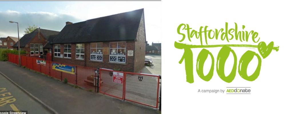 Cheadle Primary School AED Campaign – S1K