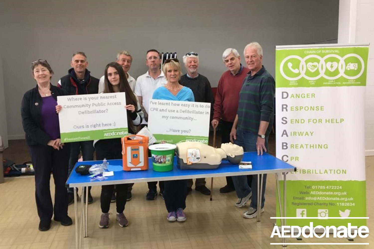 Defibrillator training for Heath Community Centre
