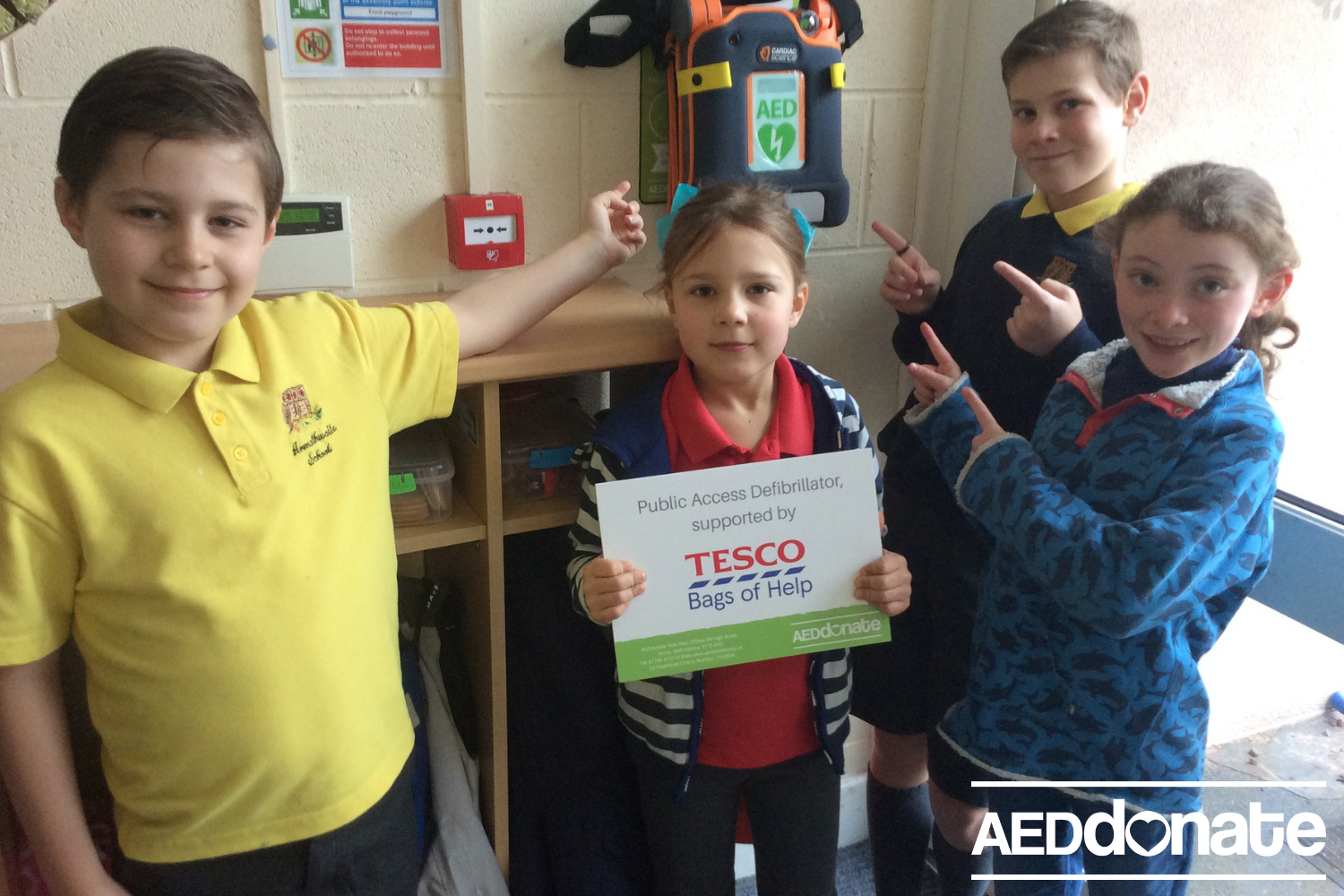 Defibrillator for Armathwaite Community School