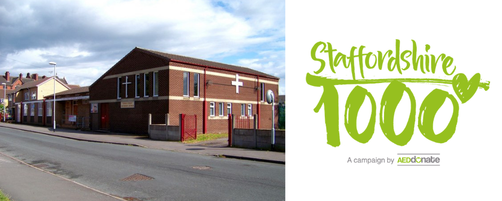 AED for Temple Street Methodist Church, Fenton – S1K