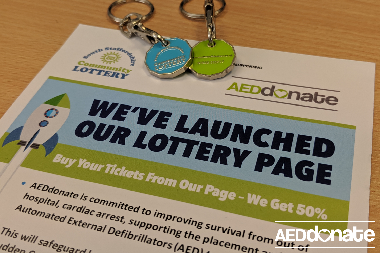 Sign up to the South Staffordshire Community Lottery