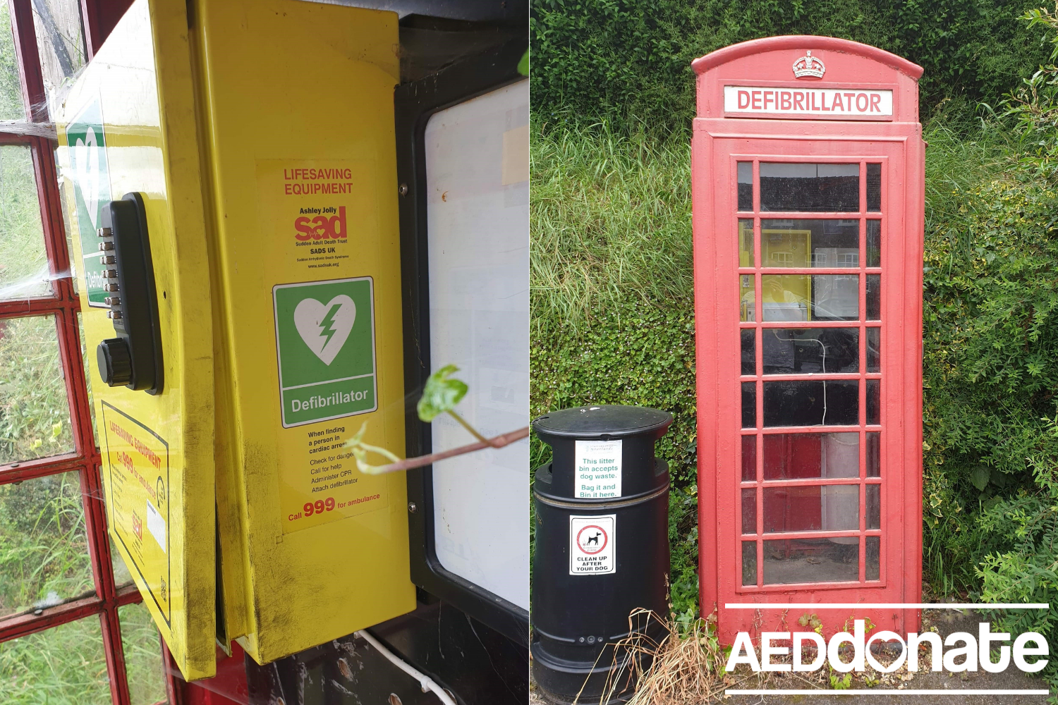 Loan unit provided after vandals steal defibrillator