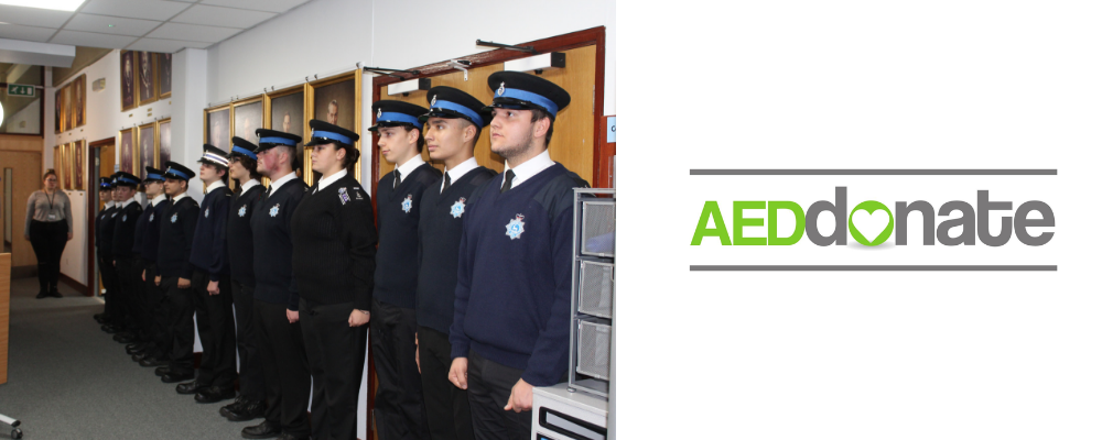 AED for Hertsmere Police Cadets