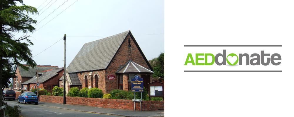 AED for Holmeswood Methodist Church