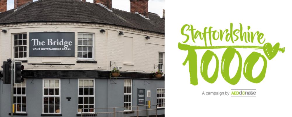 The Bridge Inn, Stone Defibrillator Campaign