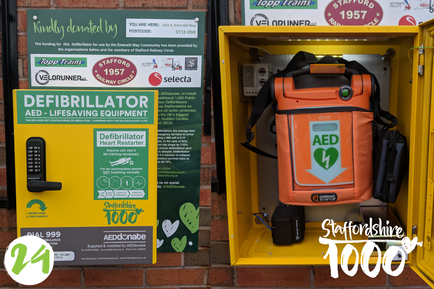 Defibrillator for Business Park