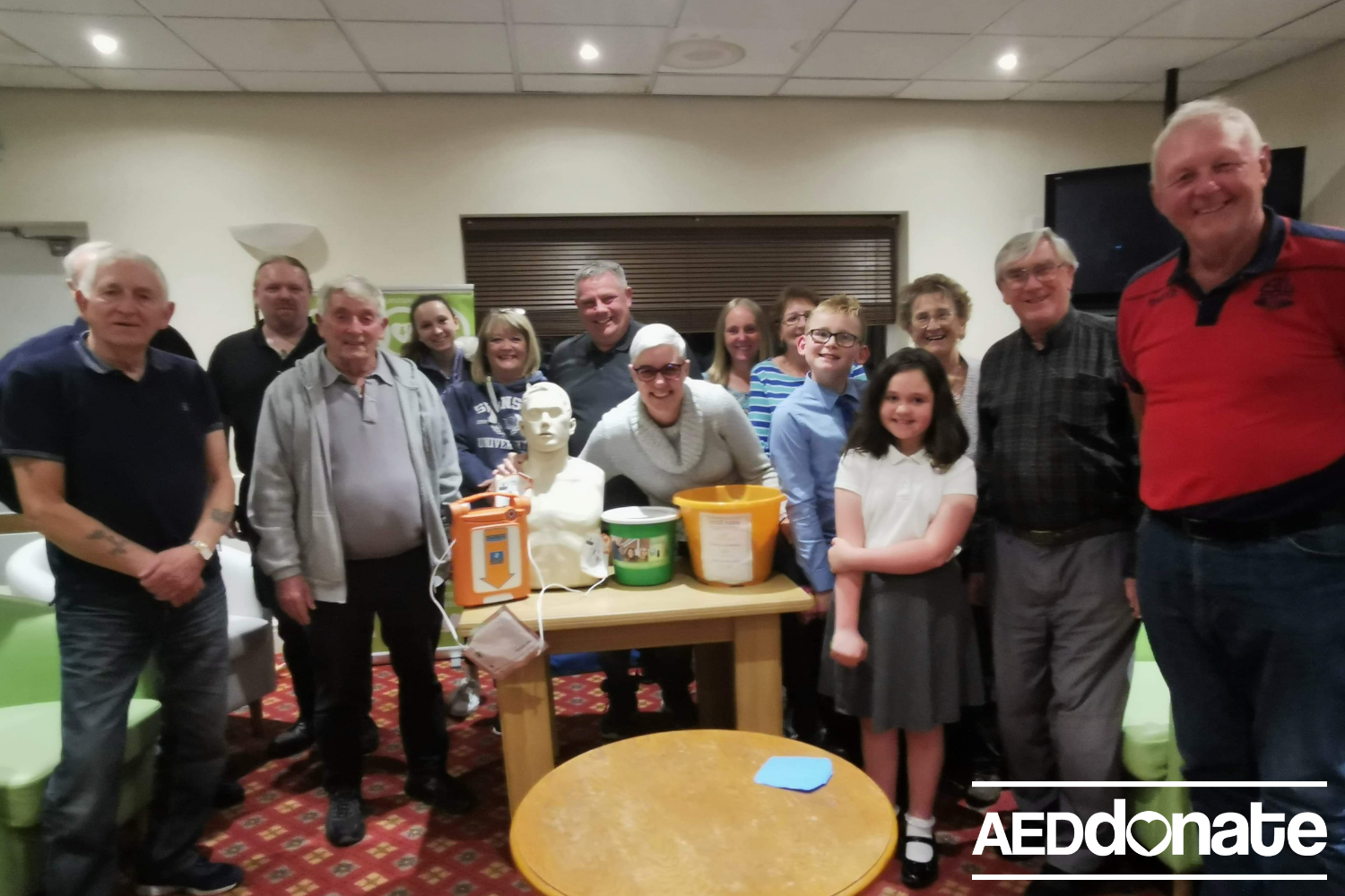 Defibrillator awareness session for Streetly Sports Club