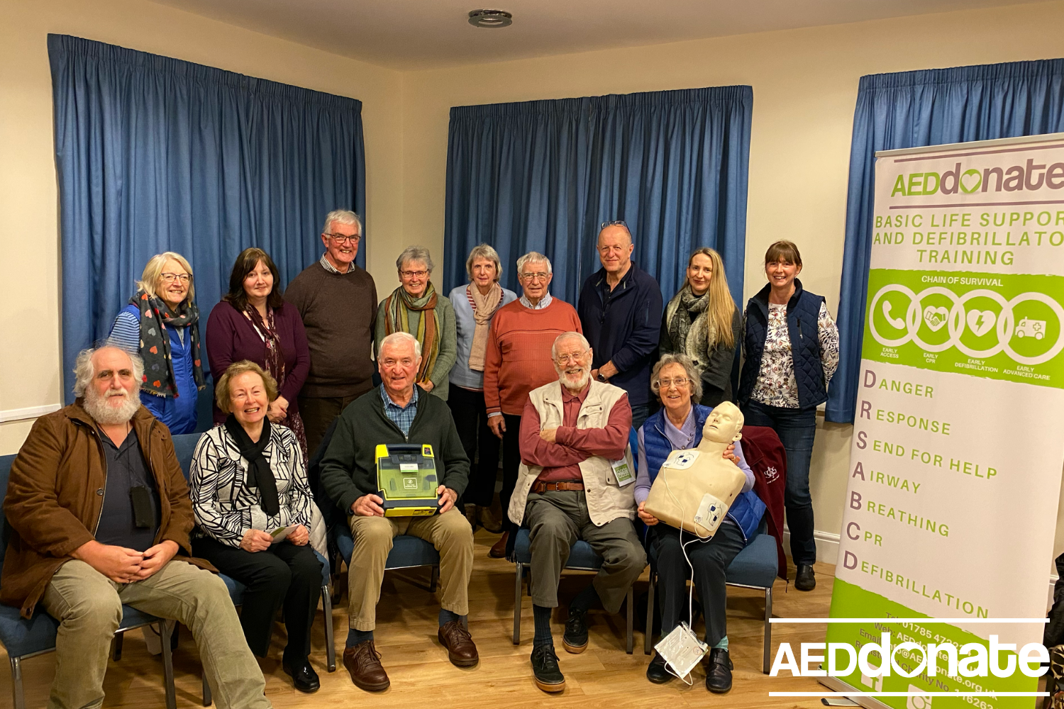Defibrillator Training for Oulton Village