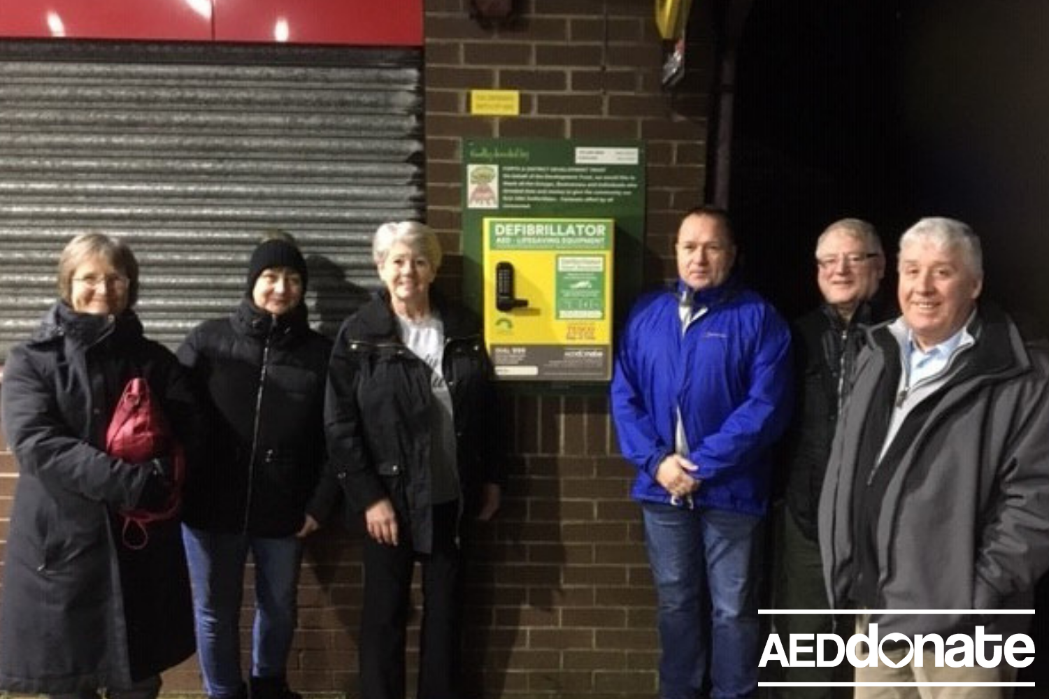 Defibrillator for Forth