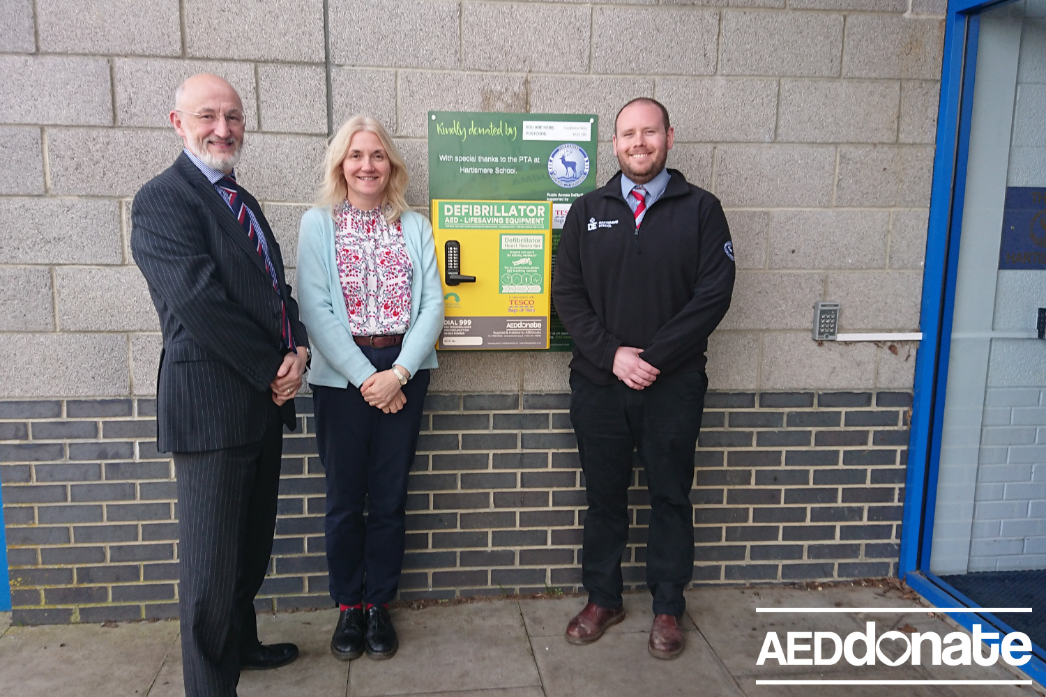 Defibrillator for Hartismere School
