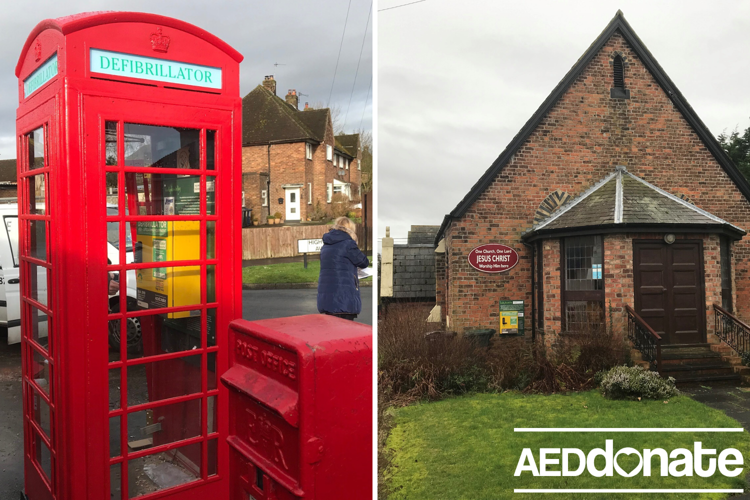 Defibrillators for Rufford and Holmeswood