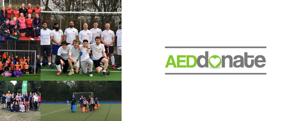 Ealing Hockey Club Defibrillator Campaign