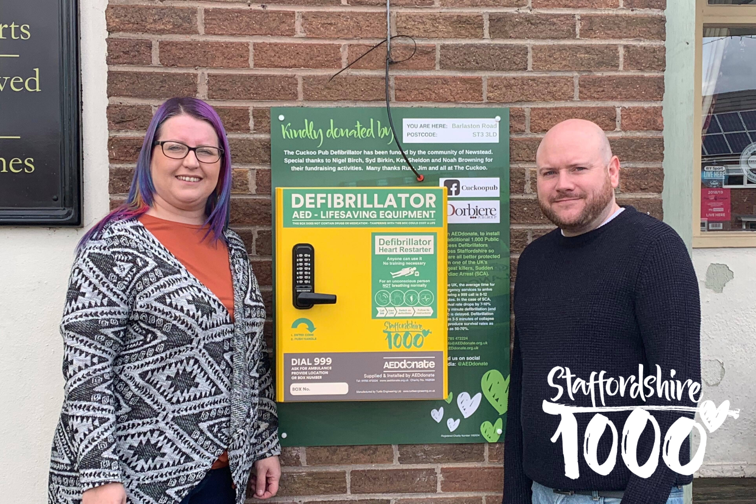 Defibrillator for Newstead
