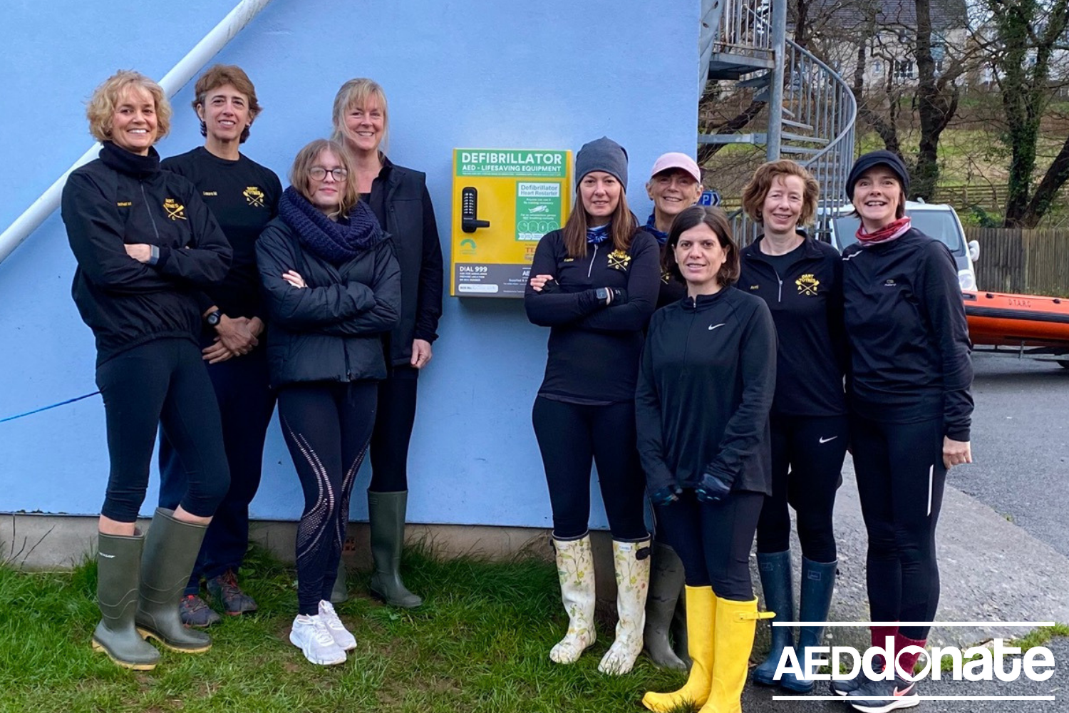 Defibrillator for Dart-Totnes Rowing Club