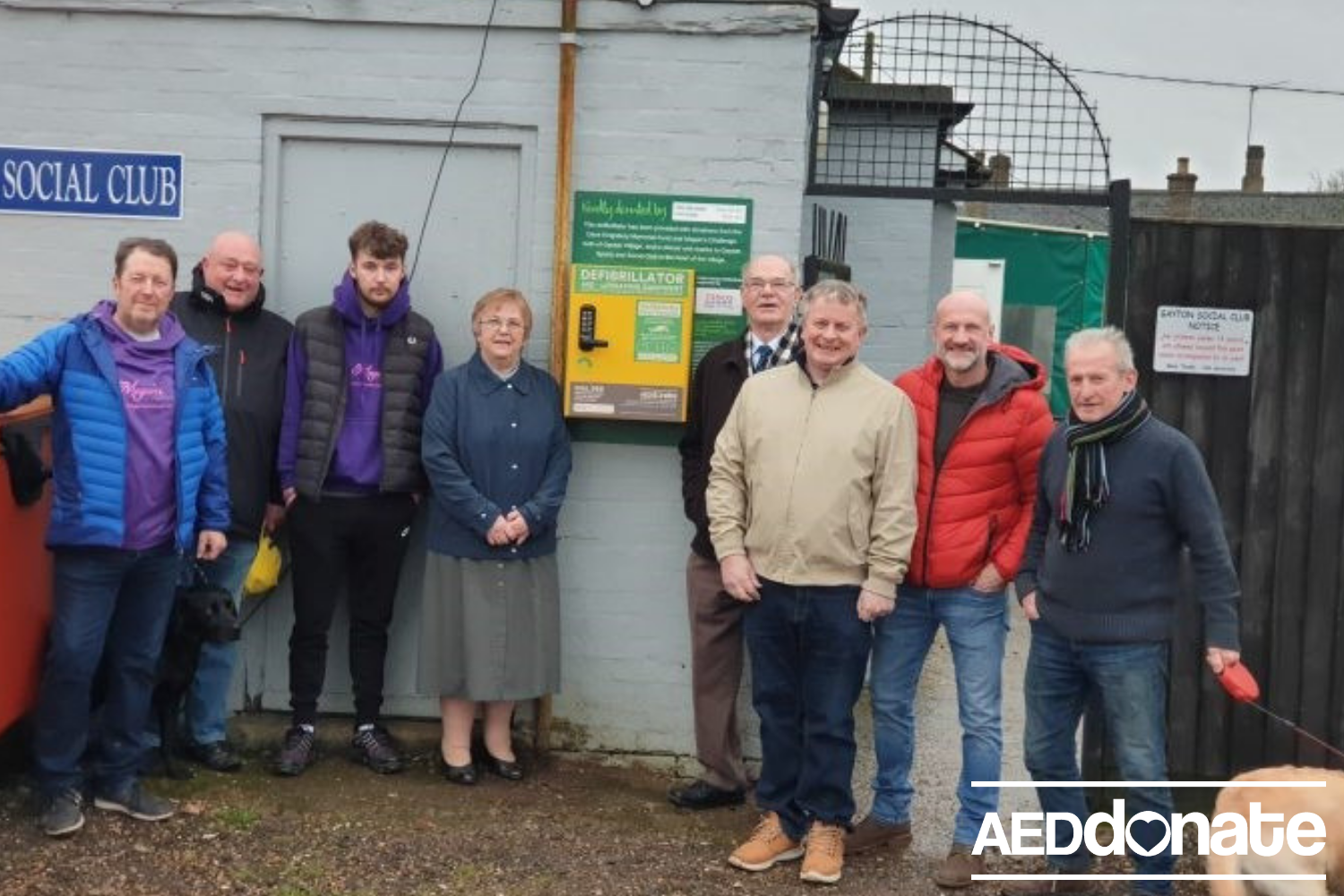 Defibrillator for Gayton Parish Council