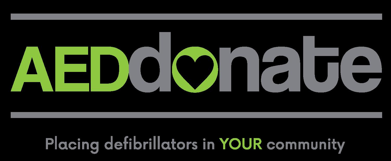 AED Donate Logo