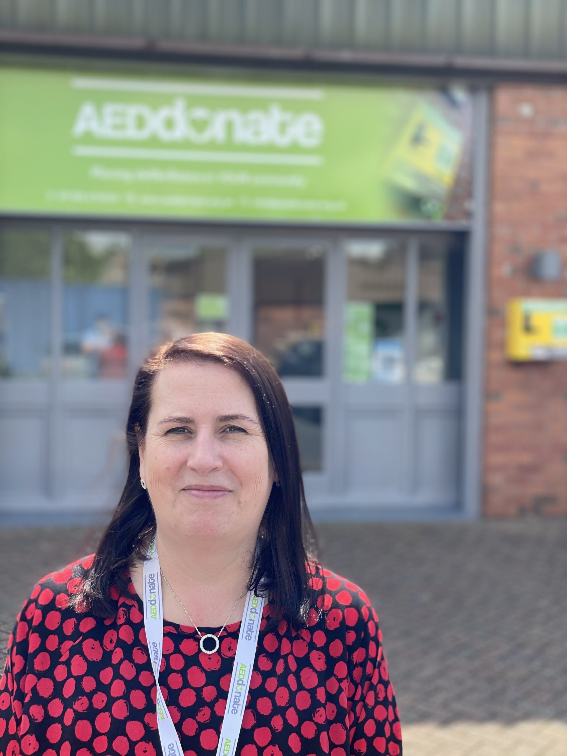Portrait of Anne Marie Oates - Charity Support Officer