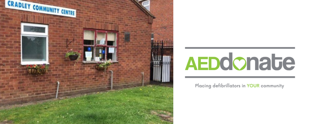 AED for Cradley Community & Welfare Association