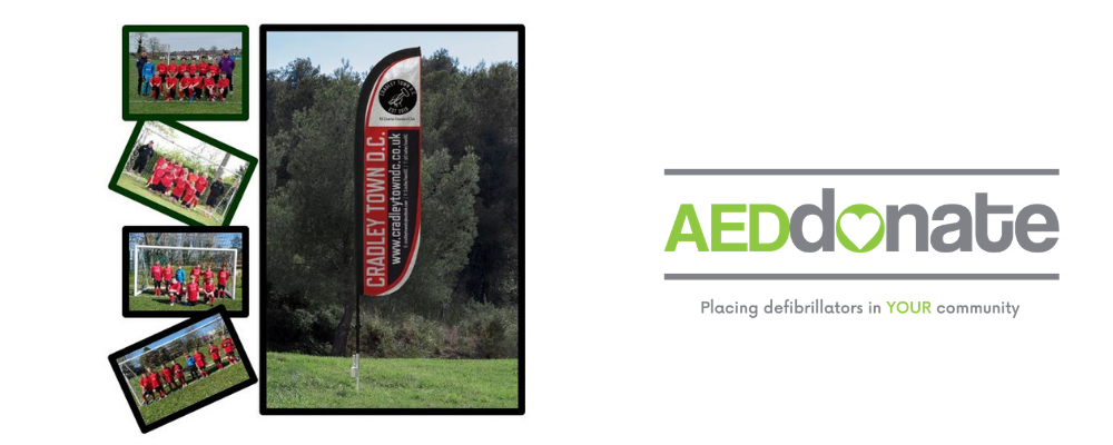 AED for Cradley Town D.C.